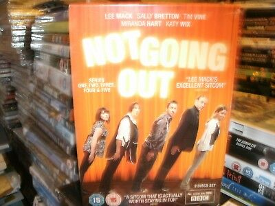 Not Going Out - Series 1-5 - Complete (DVD, 2012, 9-Disc Set, Box Set)