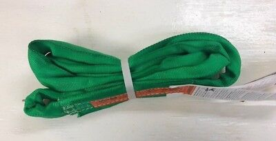 Green Endless Polyester Round Sling- All Sizes