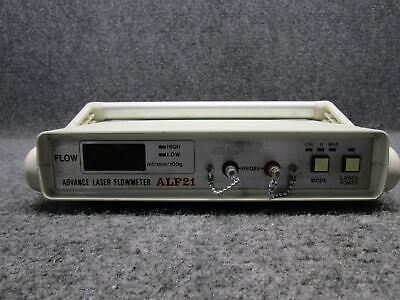 Vintage Advance Laser Flowmeter Model ALF21 *Powers On*