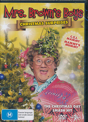 Mrs Browns Boys Christmas Surprises DVD NEW Region 4