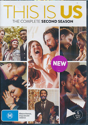 This Is Us Complete Second Season Two 2 DVD NEW Region 4