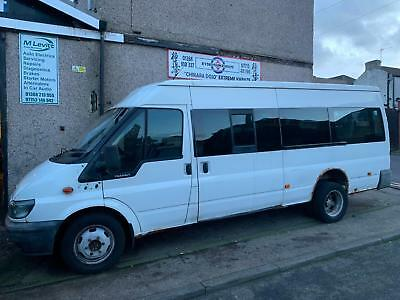 Ford Transit 17 seater minubus spares or repairs