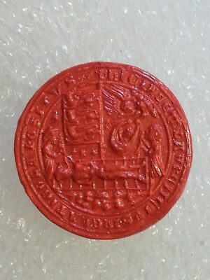 Plaster Replica of Appleby Yorkshire Medieval Wax Seal