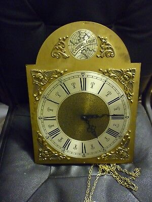Modern Weight Driven Loncase Or Wall Clock Movement With Built In Chime