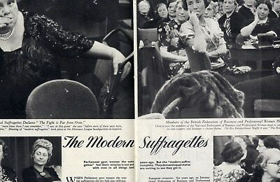 1939 PICTURE POST Photojournalism Magazine SUFFRAGETTES Soho STUNTMEN ELSTREE 21