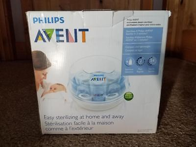 Philips Avent Microwave Steam Sterilizer 3 in 1 for For Baby Bottles. NIB