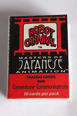 Robot Carnival: Masters of Japanese Animation Cornerstone - SET OF TRADING CARDS