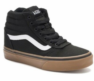 NEW VANS WARD Hi Youth Boys High-Top Shoes Size 1 -  44.99  18c39a283