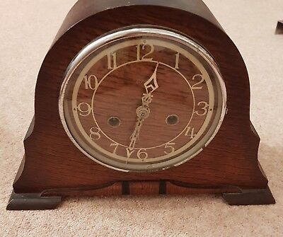 Vintage Enfield Smiths Mantle Clock     For Repair/Spares