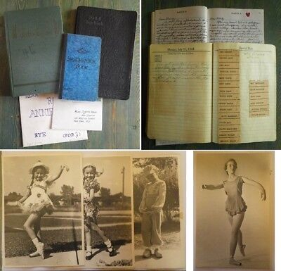 ARCHIVES Diary + PHOTOS DANSE BALLET MUSIC HALL USA 1940/1950 Griffith NEW YORK