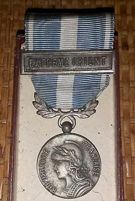 médaille militaire coloniale extreme-orient guerre d'indochine french medal