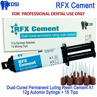 DSI DENTAL RESIN Cement Automix Self Adhesive Crowns Bridges