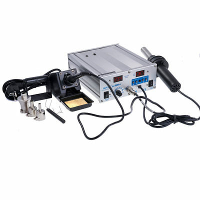 Aoyue Int899A+ 2 in 1 Digitale Löt-und Heißluftstation 35/600W SMD ReworkStation