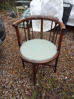Edwardian bow back chair