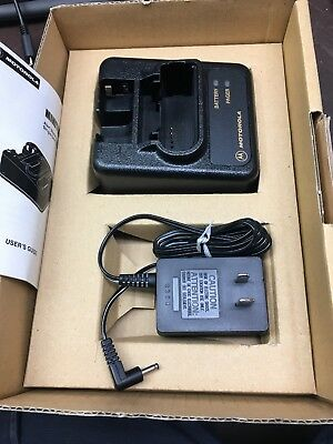 New Motorola Minitor III IV (3 or 4) Pager NYN8346B NYN8354B and Power Supply