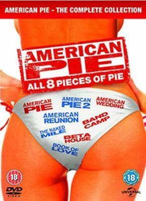 American Pie: All 8 Pieces of Pie =Region 2 DVD,sealed=