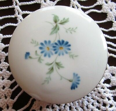 Vintage Lidded Trinket Box Counterpoint San Francisco Hand Decorated Has Flowers