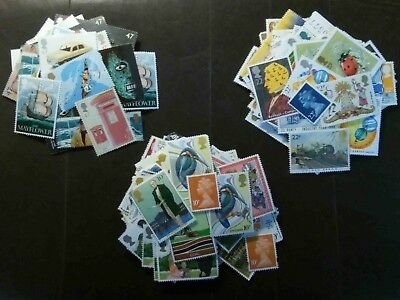 500 x 2nd Large Genuine Unused Mint Stamps Combinations Of 47p + 22p + 10p = 79p