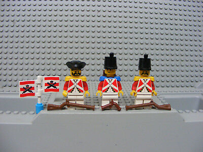 Imperial Guard Officer pi065 Pirates Minifigures Lego