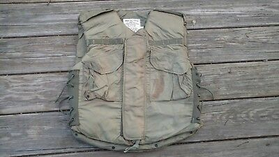 M-1952A Flak Armor Vest 1954 dated  Size SMALL no reserve, free shipping usa