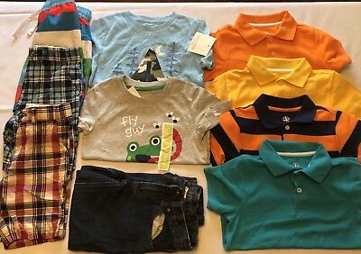 Toddler Boys Clothes Mixed Lot of 10 Spring/Summer VGUC and NWT SIZE 5