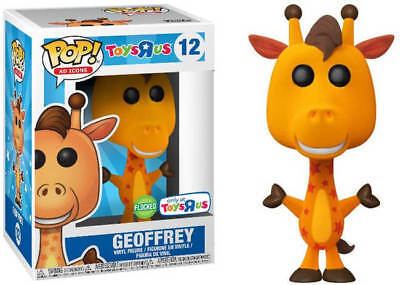 Funko Pop! Vinyl Ad Icons Flocked Geoffrey the Giraffe Toys R Us Exclusive #12
