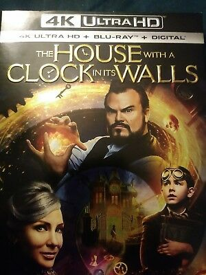 The House With a Clock in Its Walls (4K + Blu-ray) No Dig Code