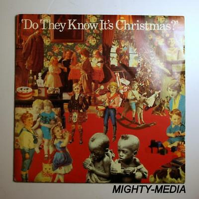 """BAND AID - DO THEY KNOW IT'S CHRISTMAS  - 7"""" Vinyl Record : NEAR MINT (p411)"""