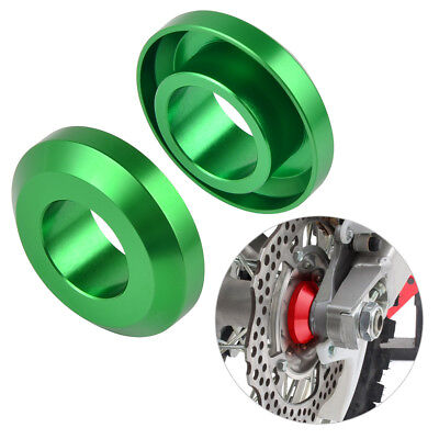 Rear Wheel Bearing Mud Spacers Collars CNC For Kawasaki KX250F KX450F 2006-2018