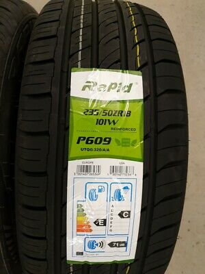 2 x 235//50//18 101W XL Falken ZE914 High Performance//Fast Road Tyres 2355018