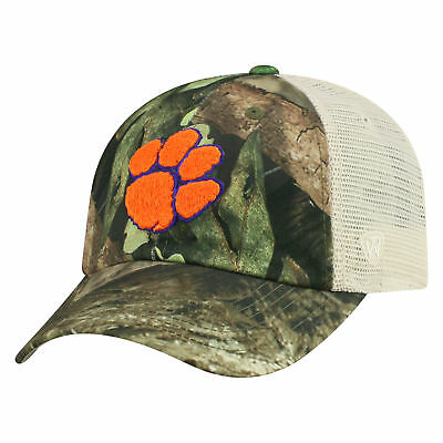 newest e4e2a dfe61 Clemson Tigers NCAA Adjustable Remote Mossy Oak and Mesh Hat Cap