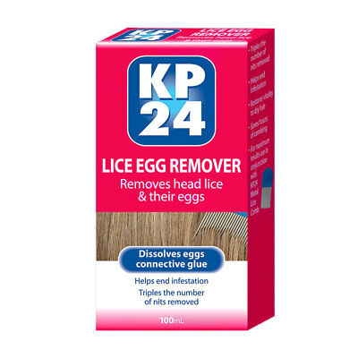 Kp24 Lice Egg Remover 100Ml Removes Head Lice & Their Eggs