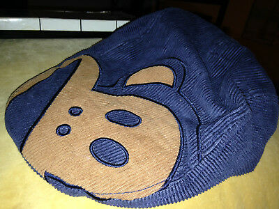 Julius The Monkey Paul Frank cabbie Cap Hat kids baby Large 100% Cotton newsboy