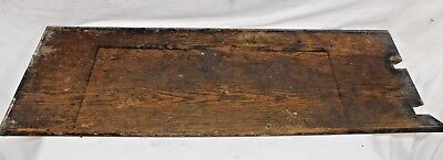 Antique Victorian Bullnose Stair Tread - C. 1890 Oak Architectural Salvage