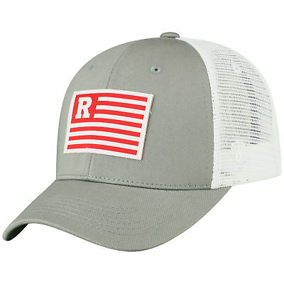hot sale online 71507 539c0 ... where can i buy rutgers scarlet knights ncaa adjustable brave cotton  mesh trucker hat cap 7dc61