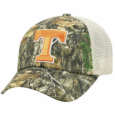 Tennessee Volunteers Adjustable Sentry Realtree Poly Twill and Mesh Hat Cap