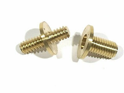 Walking Stick Connector - Solid Brass - P0775