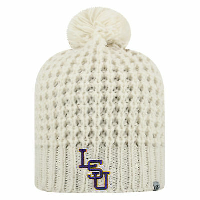 e435bfe08a7 ... sale lsu tigers official ncaa uncuffed knit slouch 1 beanie hat by top  of the world