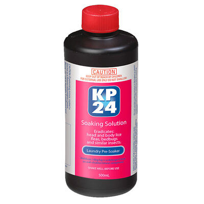 Kp24 Soaking Solution Laundry Pre-Soaker 500Ml Eradicates Head & Body Lice