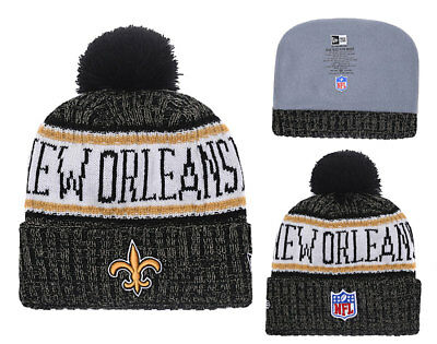 NFL NEW ORLEANS SAINTS Hat Beanie Fan Winter Knit Lint Cap
