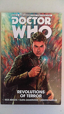 TITAN COMICS Graphic Novel Trade Paperback DOCTOR WHO Revolutions Of Terror 10th