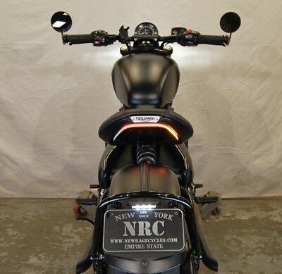 New Rage Cycles Triumph Bobber / Bobber Black Tail Tidy