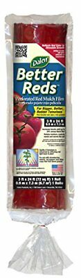 Dalen Gardeneer By Better Reds Mulch Film for Tomatoes 3' x 24'