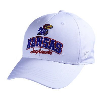 hot sale online 9a28e a65d9 Kansas Jayhawks Official NCAA Adjustable Advisory Hat Cap by Top of the  World