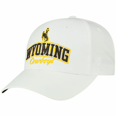 100% authentic 31ac6 8d7e2 Wyoming Cowboys Official NCAA Adjustable Advisory Hat Cap by Top of the  World