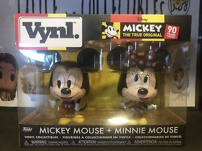 Funko Pop Vynl Mickey Mouse and Minnie Mouse Disney 2 Pack {Pre-Order}