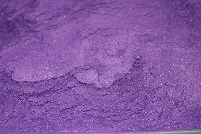 10g PURPLE MICA - Soap Candle Polymer Clay Making Colour Mineral Powder