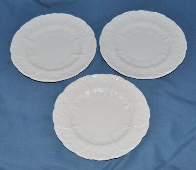 "3 Beautiful Vintage Coalport ""Countryware"" Bone China, 6 1/8 Inch Side Plates"