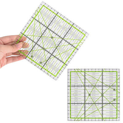 Durable Acrylic Quilting Patchwork Ruler Square Craft Measuring Sewing Tools 77g