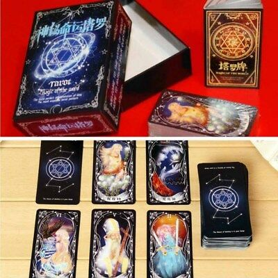 New Cards Good Tarot with Color Box Chinese Version Card Games #E9C